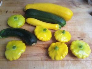 garden vegies