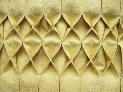 Tumbling Blocks - Honeycomb Smocking