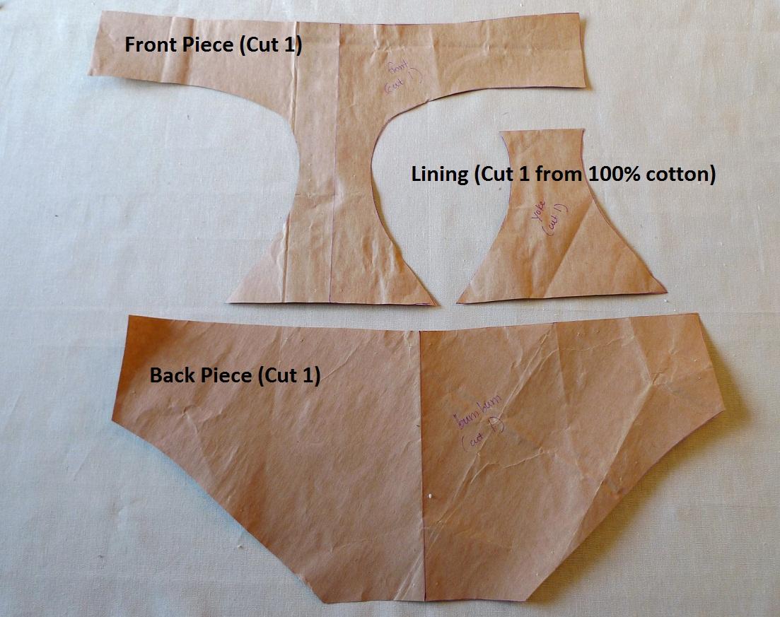Panty tutorial how to sew underwear you jeuxipadfo Gallery